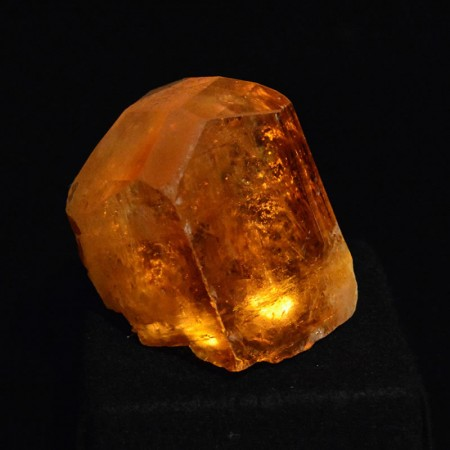 Topaz Kristall Licht