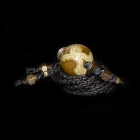 Orbicular Jaspis Choker Halskette
