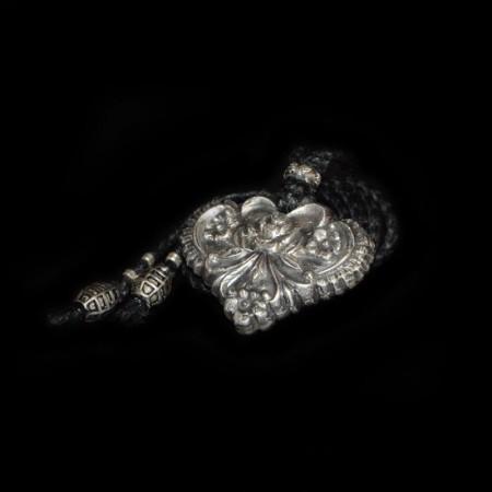 Silber Amulett Halskette
