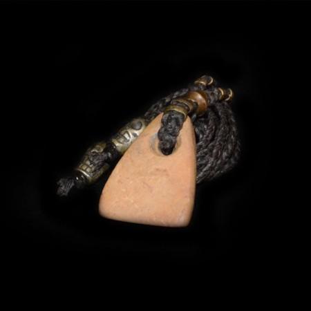Neolithischer Steinanhänger Talisman