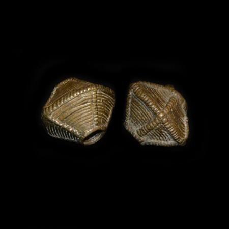Antike Khond Tribe Messing Perle