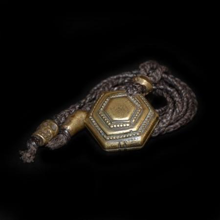 Antikes indisches Opium Amulet