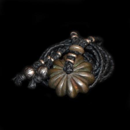 Antikes indisches Opium-Gewicht Amulett