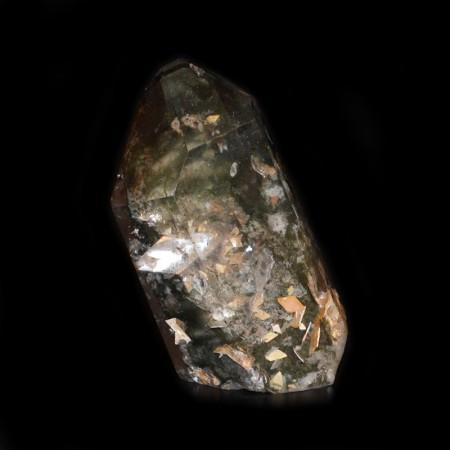 Polierter Phantom Bergkristall