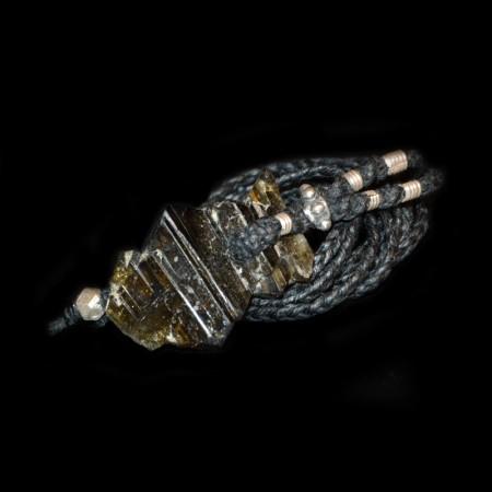 Terminierter Epidot Kristall Talisman