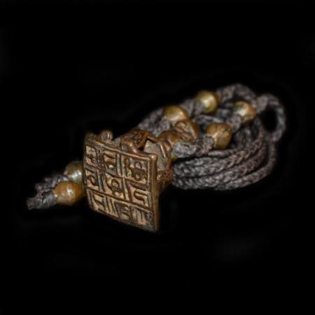 Antikes Hindu Tilak Amulet