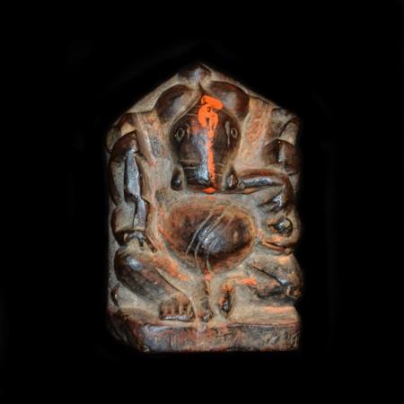 Antiker Stein Ganesha
