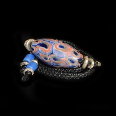 Antike Glasperle Choker Halskette