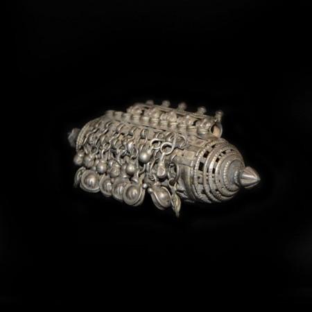 Antikes ethnisches Silber Amulett
