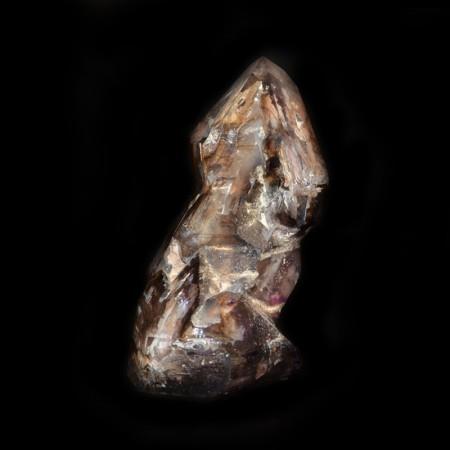 Fantom Amethyst / Bergkristall aus Madagaskar
