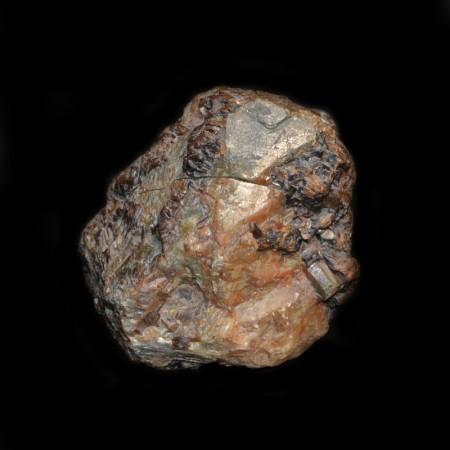 Riesiger goldener Safir Kristall aus Madagascar