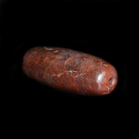 Grosse rote Rubin Edelsteinperle