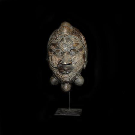 Bronze Maske der Ife, Benin