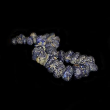 Seltene natürlich Lapis Stein-Nugget Perlen