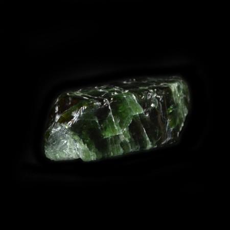 Doppelt terminierter Epidot Kristall