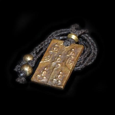 Fünf Buddha Metall Amulet Talisman