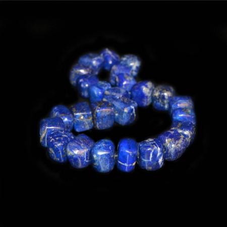 Kubische Lapis Lazuli Perlen