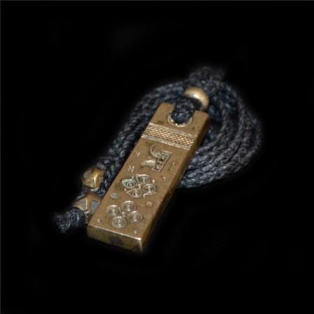 Antikes Bronze Amulet Talisman