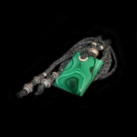 Malachit Amulett